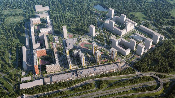Проект жилого комплекса Одинцово-1, Московская область